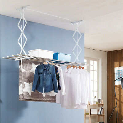 New Adjustable Clothes Ceiling Pulley Airer Dryer Drying