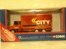 Corgi Toys Scania  LT 145 Box Van City Transport REF: 58803