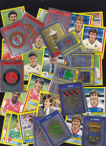 221 Nottingham Forest Neil Webb PANINI FOOTBALL 87 STICKER no