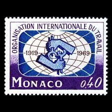 Monaco 1969 - 50th Anniversary of ILO - Sc 748 MNH