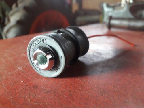 LUCAS GREEN  WL12  LU 38069 A  12V VINTAGE   DASH WARNING LAMP VGC KIT CAR