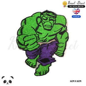 Hulk-Superhero-Movie-Embroidered-Iron-On-Sew-On-Patch-Badge-For-Clothes-etc