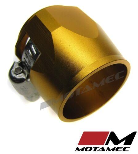 Motamec 24 mm AN12 Carburant Tuyau Pince fin de finition tête hexagonale Jubilee Alliage Or