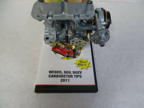 32//36 DGEV PROGRESSIVE CARBURETOR ELECTRIC CHOKE  W//DVD ON WEBER DGV CARBS