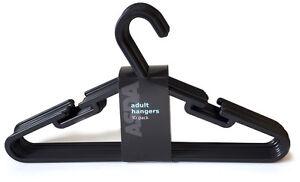 Asda Adult Plastic Coat Hangers Strong Garment Hanger