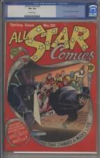 ALL-STAR COMICS 20 - CGC 4.5 - Dr. Fate and Sandman cameo - DC Comics