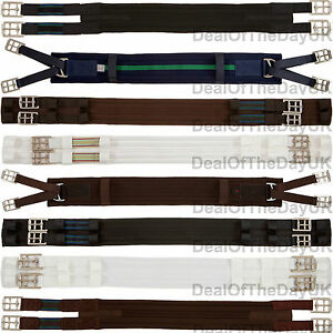 Aerborn-Padded-Cushion-Web-Girths-Dressage-Polo-Standard-Elastic-End-Humane