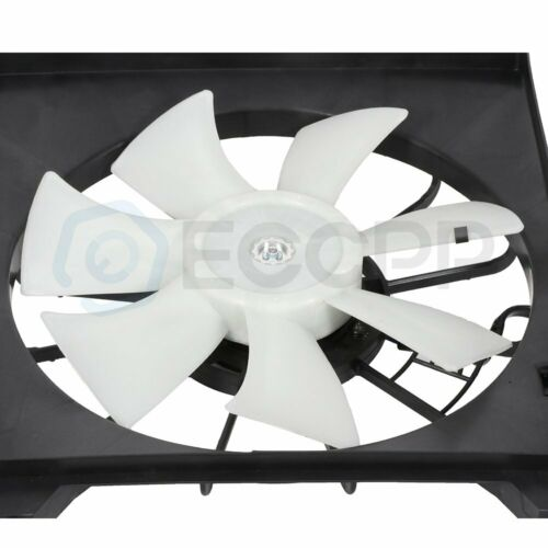 Radiator Cooling Fan Assembly For 2009 2010 2011 2012 2013 2014 Acura TSX