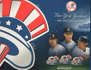 2007-NEW-YORK-POST-NEW-YORK-YANKEES-PIN-COLLECTION-BOOK