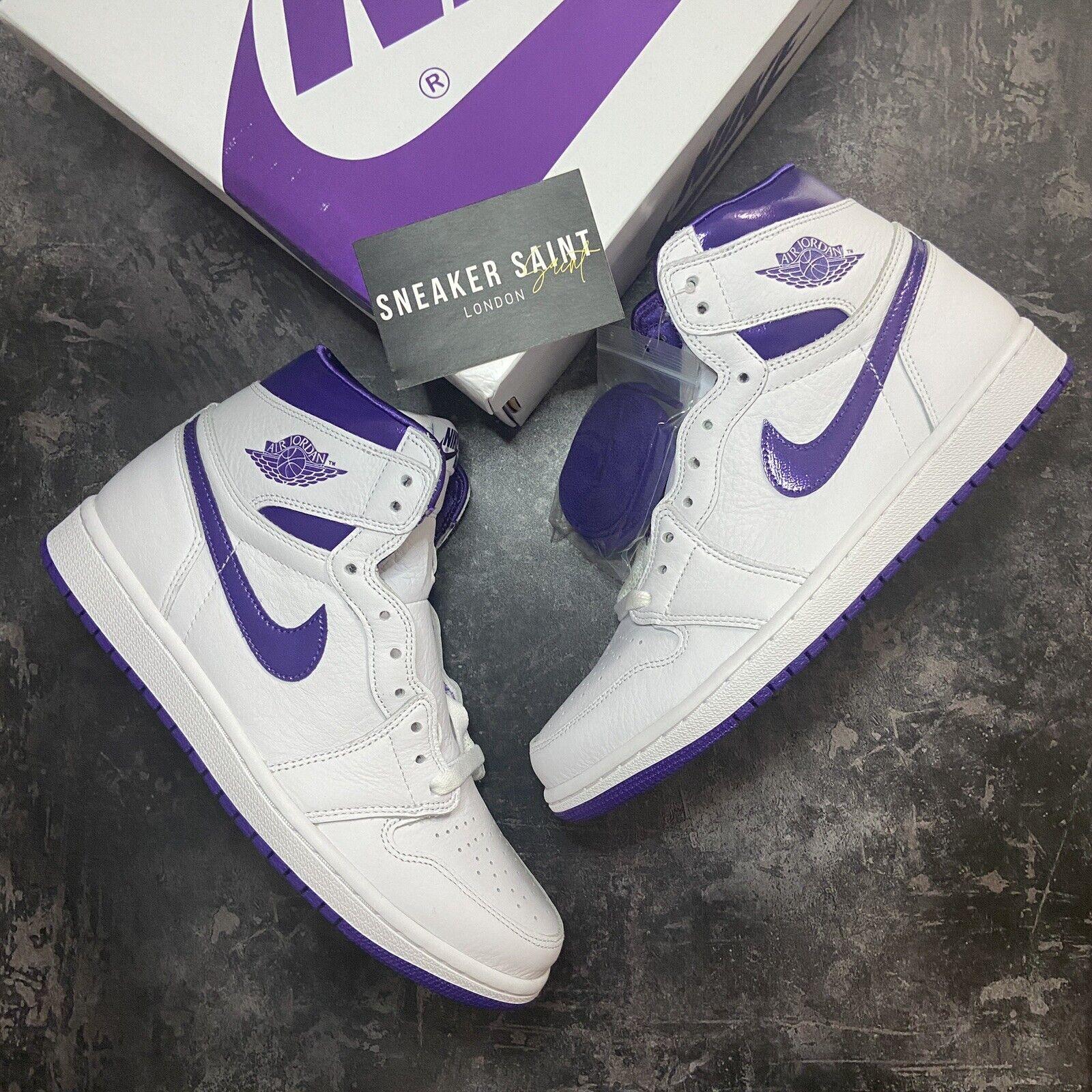 Jordan 1 Retro High OG Court Purple (UK 7)