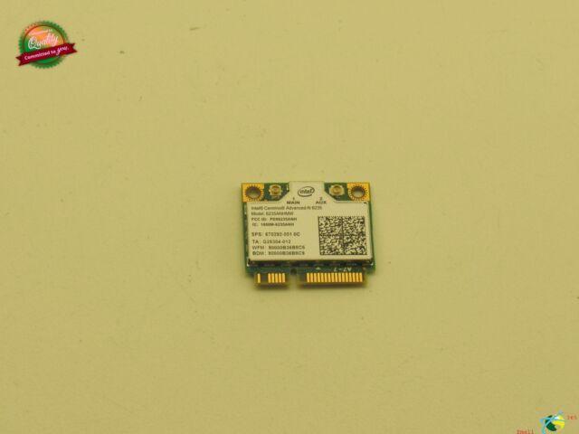 HP EliteBook Folio 9470M Genuine Wireless Wifi Network Card 6235ANHMW 670292-001