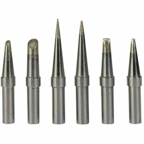 6x Replacement ET Soldering Iron Tip For WE1010NA WESD51 WES50//51 Solder Station