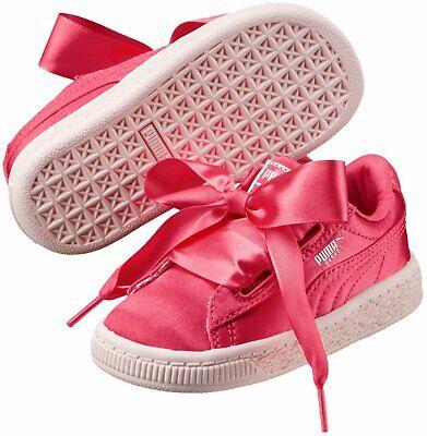 puma basket platform tween rosa
