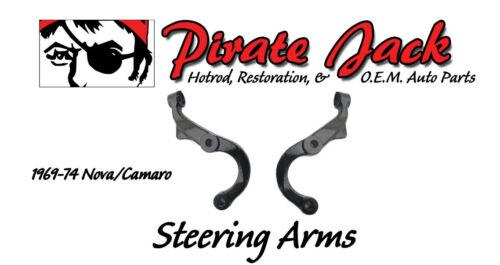 1967 68 69 Camaro /& Nova 69-74 Steering Arms For Disc Brakes Brand New