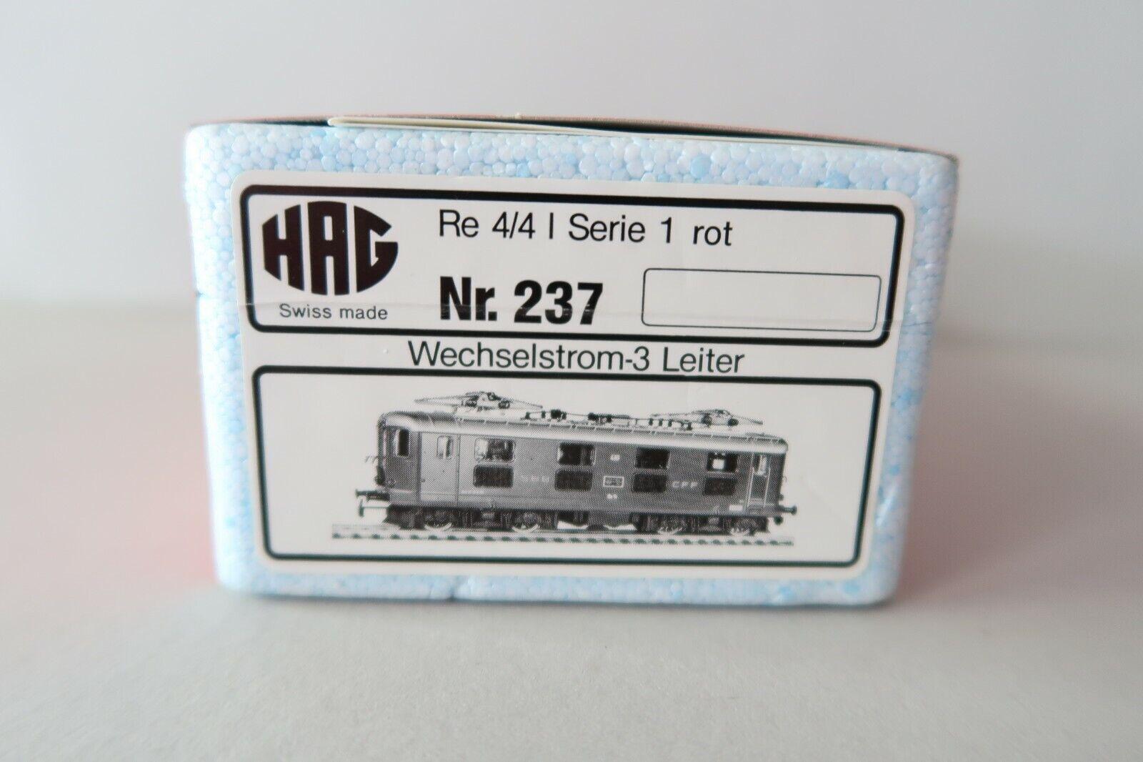 HAG HO AC 237 237 237 E-Lok BR 10010 SBB Re 4 4 I SERIE 1 ROSSO (dx037-200s3 3) af44a2
