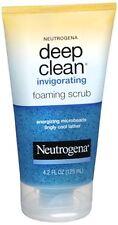 Neutrogena Deep Clean Invigorating Foaming Scrub 4.20 oz (Pack of 9)