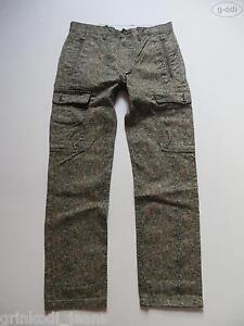 Levis-Cargo-II-Jeans-Hose-W-34-L-32-camouflage-NEU-Slim-Straight-Denim-50
