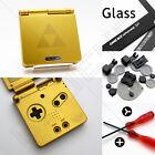 New Gold Zelda Nintendo Game Boy Advance SP GBA Funda/carcasacubiertacarcasa Kit