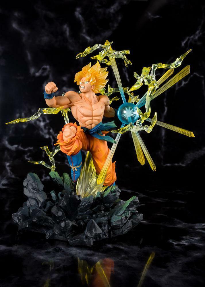 BANDAI Dragonball Z Figuarts ZERO PVC Statue súper Saiyan Son Goku Tamashii Web
