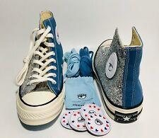 Yo Actual En general  Converse X Chiara Ferragni Glitter Chuck Tailor All Star Lift Silver Size  8.5 for sale online   eBay
