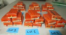 Lot Of 5 Graffco Maptacks Vtg Boxes Medium Map Pin Tacks Choice Of 6 Lots
