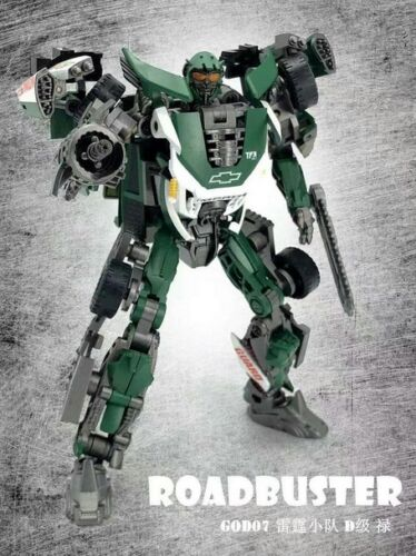 New Transformers Dream Factory GOD-07 Roadbuster Deluxe Class Figure In Stock