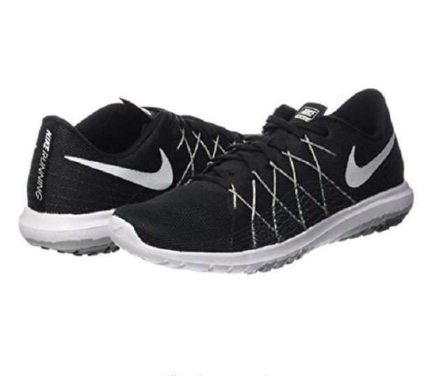 ec6ae1e8ebc26 Nike Flex Fury 2 Womens 819135-001 Black Grey Running Training Shoes ...