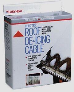 Easyheat Roof Gutter Snow De Icing Kit Easy Heat Tape