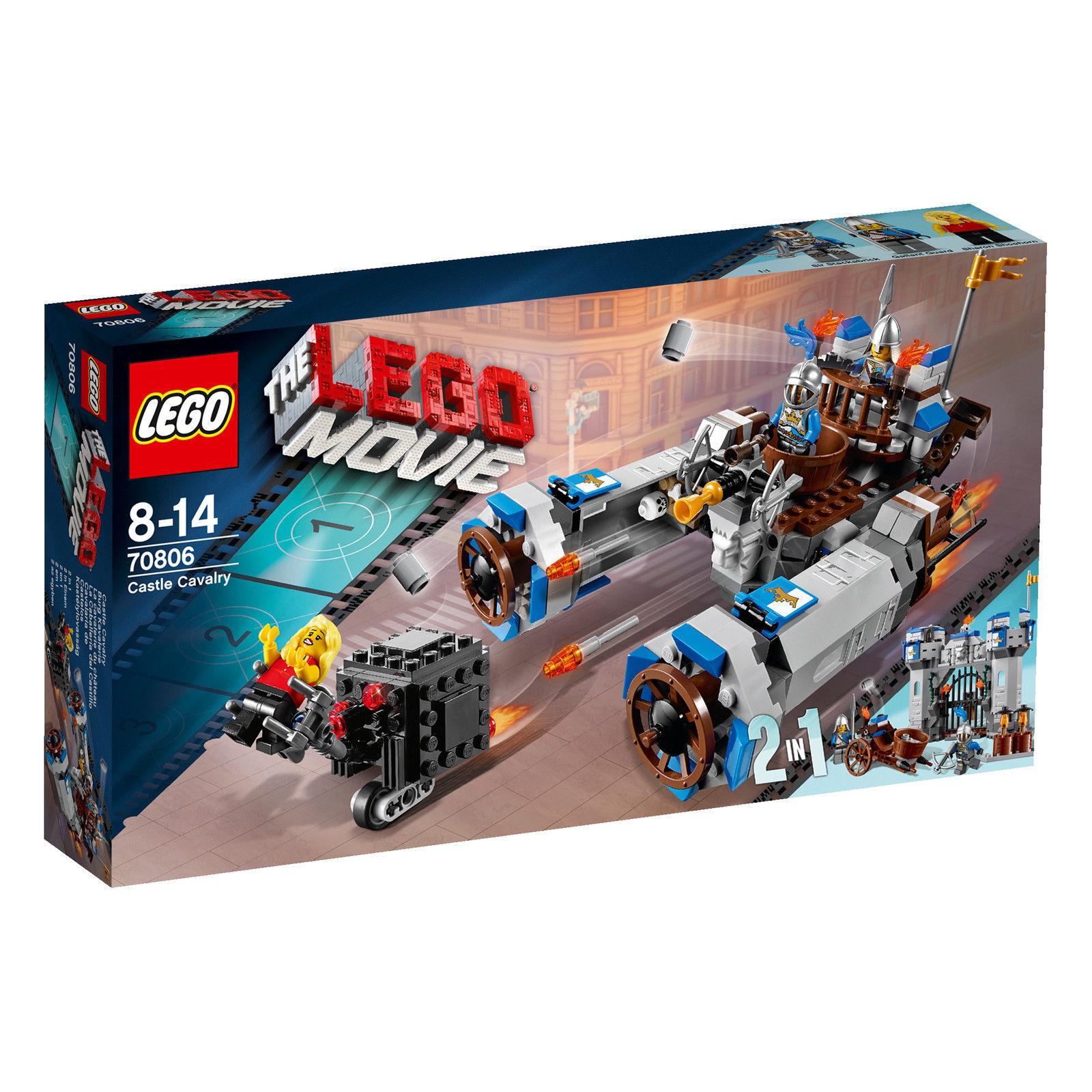LEGO® THE LEGO® (70806) MOVIE Burg Kavallerie  inkl Versand Neu