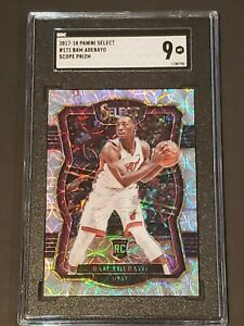 2017 Select SCOPE Prizm Extremely Premier Level Bam Adebayo RC SGC 9 Rookie