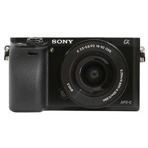 Sony Alpha a6000 Mirrorless Digital Camera with 16-50mm Lens Black