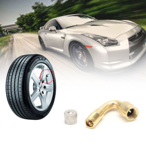 45//90//135  Degree Tyre Valve Extension Adaptor Motorcycle Car Tire Stem Extender