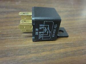 HEAVY DUTY 5PIN 12VOLT 30AMP 129 UNIVERSAL RELAY BARJAN EBay - Heavy Duty 5 Pin Relay