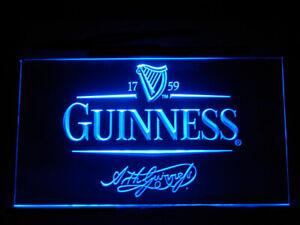 J235b Guinness Alec Arth Beer For Pub Bar Display Light Sign Ebay