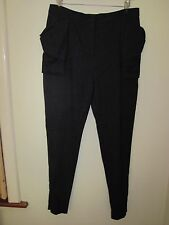 FIRETRAP SKINNY BIG POCKETS TROUSERS PANTS SLACKS 10 ZIP ANKLES NEW 28
