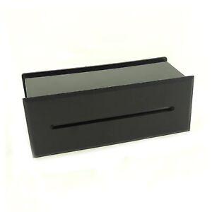MODERN BLACK MATT LED BRICK WALL LIGHT LAMP 3W GARDEN PATIO OUTDOOR RECESSED