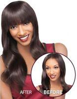 Outre Velvet 100% Remi Human Hair Clip-in Bangs Sassy Bangs