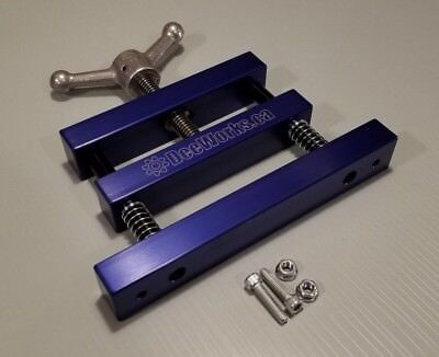 Anodized Blue Connecting Rod Vise All Aluminum Construction