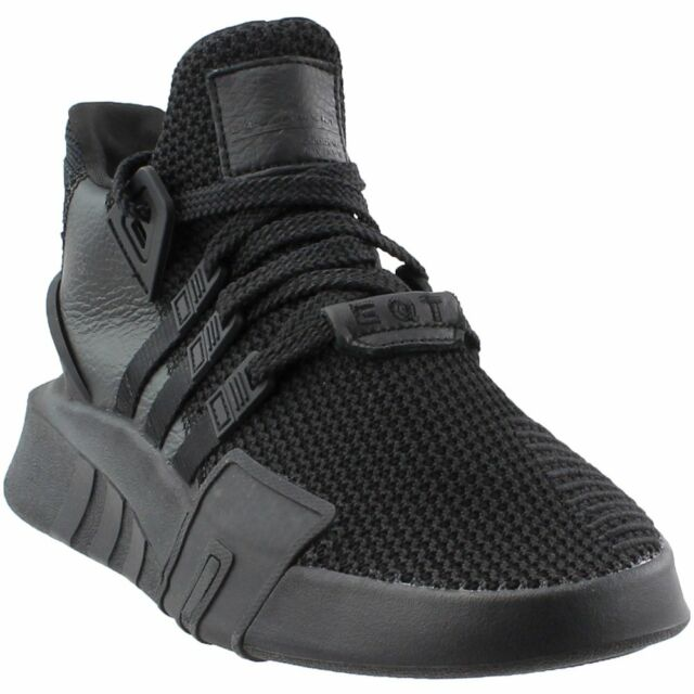 watch 92780 48877 adidas EQT Basketball ADV Casual Sneakers - Black - Mens