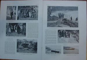 L'ILLUSTRATION 4135 DU 3/6/1922 EXILES ZITA OTTO ROI DE ROME CASCADE DE GAVARNI