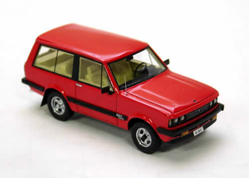 Wonderful modelcar MONTEVERDI SAFARI 1976 - r e d d d -  1 43 - lim.ed.500 3e8772