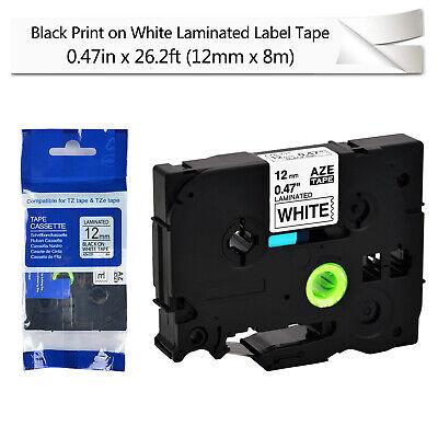 "20PK TZ-231 0.47/"" Label tape For Brother P-Touch PT-D400 PT-D600 Black on White"
