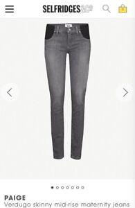 Maternity Verdugo Grigio Jeans Skinny 33 Ultra 18 Misura qIApxwPq