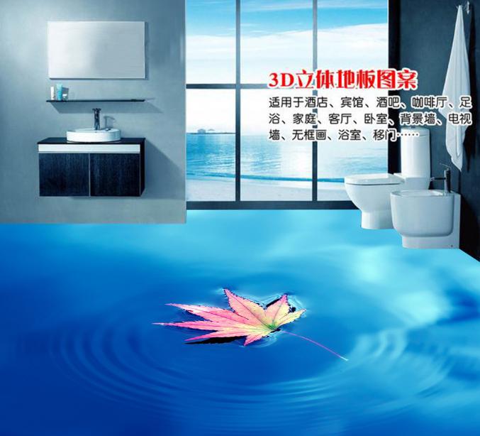 3D Ahornblatt Fisch Fototapeten Wandbild Fototapete Tapete Familie DE Lemon