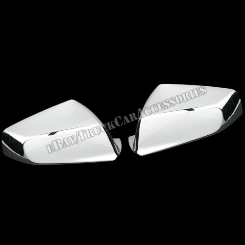 For 2010 2011 2012 Buick Lacrosse Chrome 2 Mirror Covers Pair Side View Set 2PC