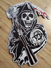 Sons Of Anarchy Official Licensed Rocker & Jacket Patch Sets Biker Gang FX