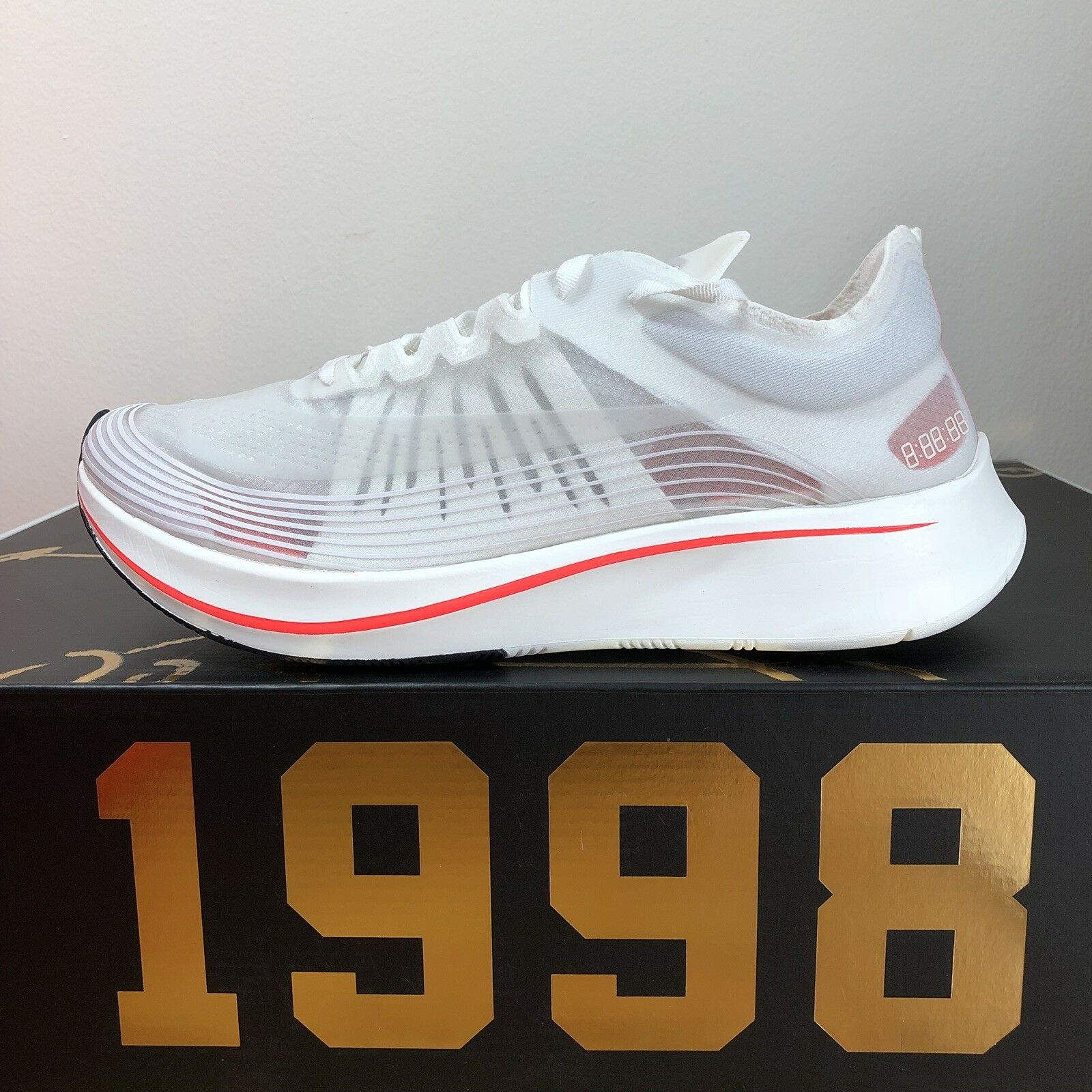 2018 Nike Zoom Fly SP Breaking 2 White AJ9282-106  LIMITED 100% Authentic