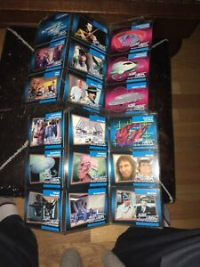 Star-Trek-The-Next-Generation-Trading-Cards-Lot-18-cartes