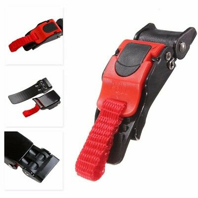 3x Motorcycle Bike Helmet Chin Strap Speed Sewing Clip 3 Quick Release Buckle ER