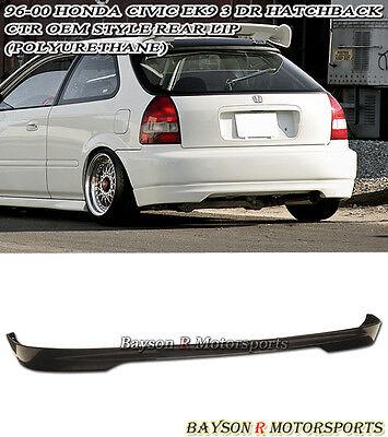 96-00 Civic 3dr CTR Type-R Rear Bumper Lip (Urethane)